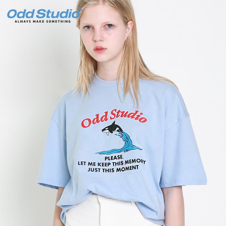 오드스튜디오 그램퍼스 티셔츠 - SORA