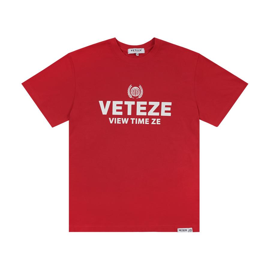 베테제 - Earth Campaign T-Shirt (red) 어스 캠페인 티셔츠 (레드)