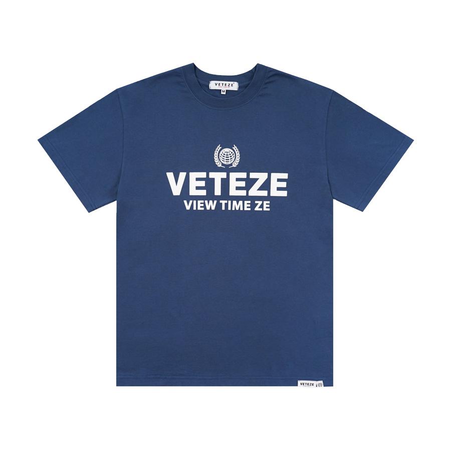 베테제 - Earth Campaign T-Shirt (deep blue) 어스 캠페인 티셔츠 (딥블루)