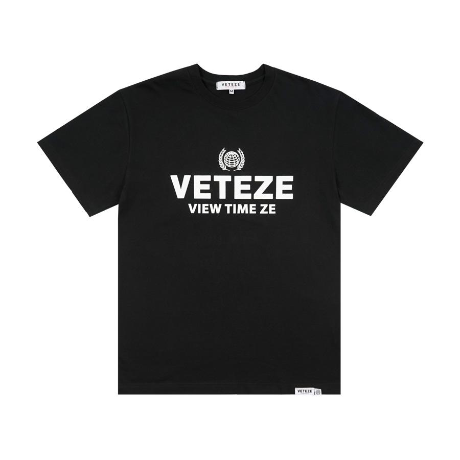 베테제 - Earth Campaign T-Shirt (black) 어스 캠페인 티셔츠 (블랙)