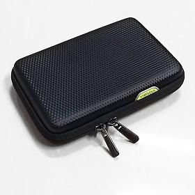 [바투카]VATUKA - 3D 큐브 블랙 멀티파우치 외장하드케이스 여권지갑 오거나이저