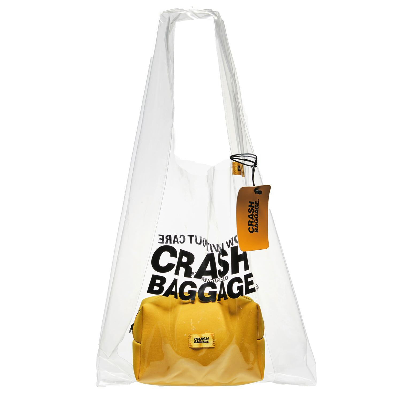 크래쉬 배기지 숄더백 PLAC BAG PVC 2 IN 1 백 SHARE 투명가방
