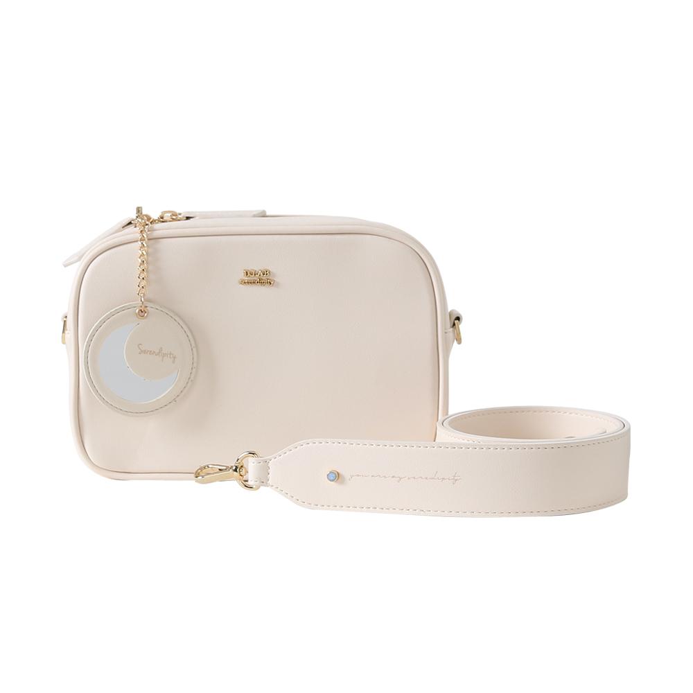 [디랩]D.LAB - (달거울 증정/탄생석) COCO BAG - Cream 크로스백 여성가방