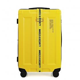 [오그램] 휠즈앤 컨테이너 PC 캐리어 24인치 옐로우