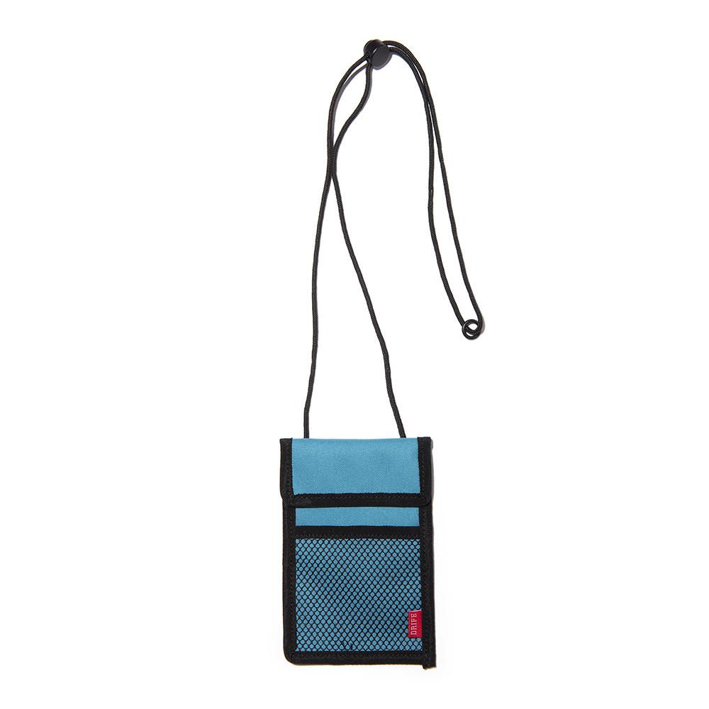 [드라이프]DRIFE - RF ID CASE - MINT 넥파우치목걸이 카드지갑