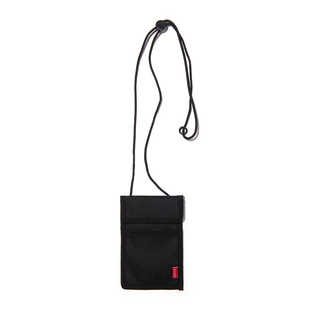 [드라이프]DRIFE - RF ID CASE - BLACK 넥파우치목걸이 카드지갑