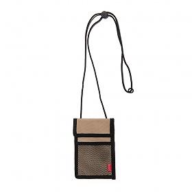 [드라이프]DRIFE - RF ID CASE - BEIGE 넥파우치목걸이 카드지갑