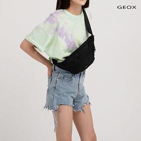 [제옥스]GEOX - MAIL WAISTBAG BLACK 매일웨이스트백 블랙