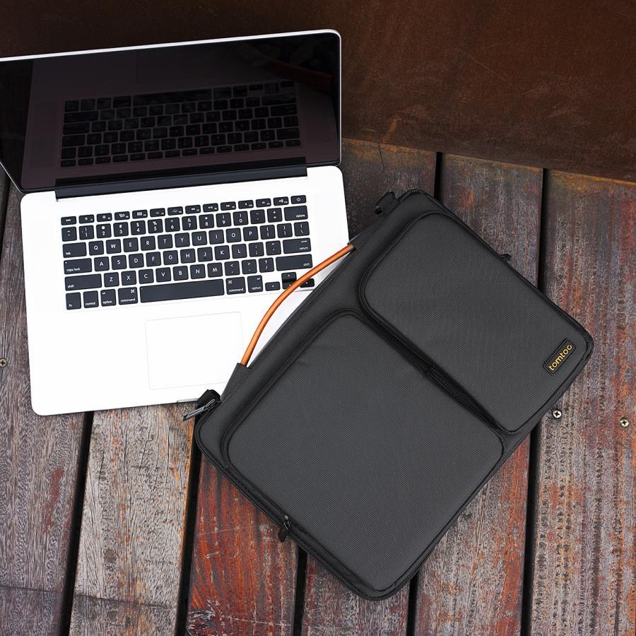 [탐탁]tomtoc A42 맥북 노트북 가방 15인치-15.6인치 블랙 탐탁코리아 정품