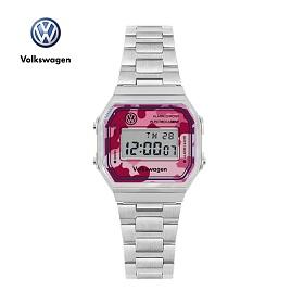 [폭스바겐] VW-Beetlecamo-RP 손목시계 메탈시계