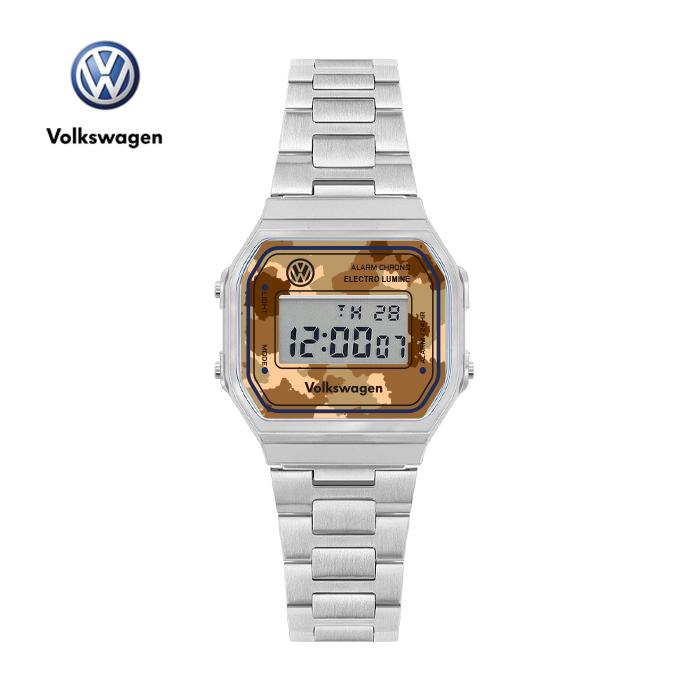 [폭스바겐] VW-Beetlecamo-LB 손목시계 메탈시계