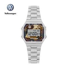 [폭스바겐] VW-Beetlecamo-DB 손목시계 메탈시계