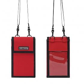 #클리어런스 베테제 - Folder Multi Mini Bag (red) 폴더 멀티 미니백 (레드) 넥파우치 목걸이 지갑