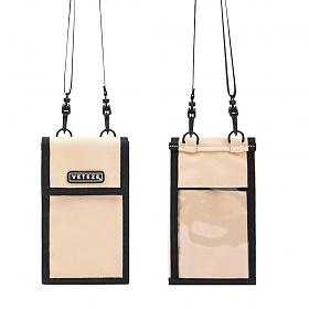 베테제 - Folder Multi Mini Bag (beige) 폴더 멀티 미니백 (베이지) 넥파우치 목걸이 지갑