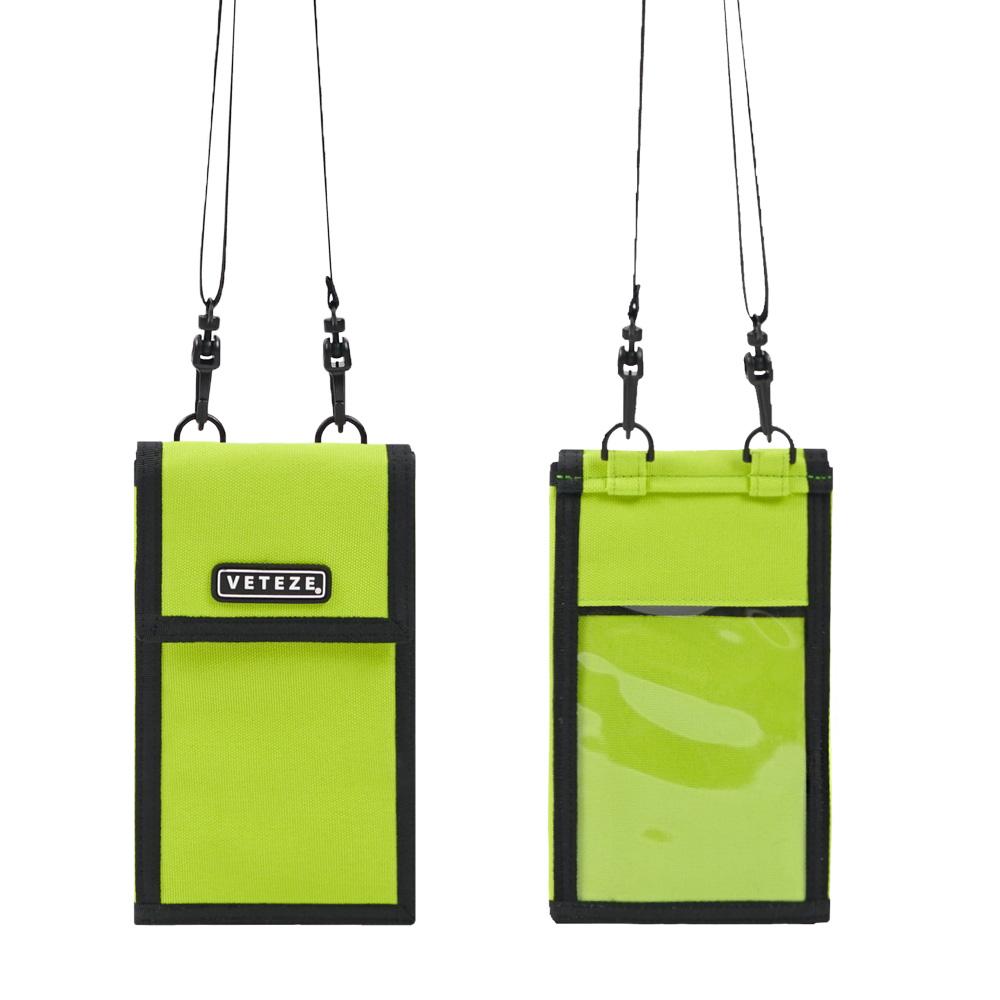 #클리어런스 베테제 - Folder Multi Mini Bag (neon) 폴더 멀티 미니백 (네온) 넥파우치 목걸이 지갑