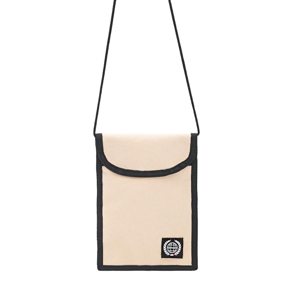 베테제 - Daily Pouch Bag (beige) 데일리 파우치백 (베이지) 넥파우치 목걸이 지갑