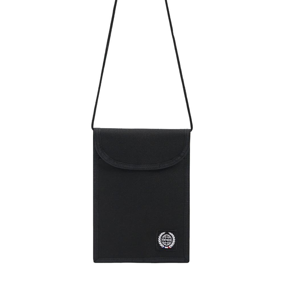 베테제 - Daily Pouch Bag (black) 데일리 파우치백 (블랙) 넥파우치 목걸이 지갑