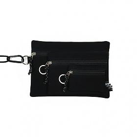 [오이스터컬쳐클럽] 캔버스 파우치 3종 세트 블랙