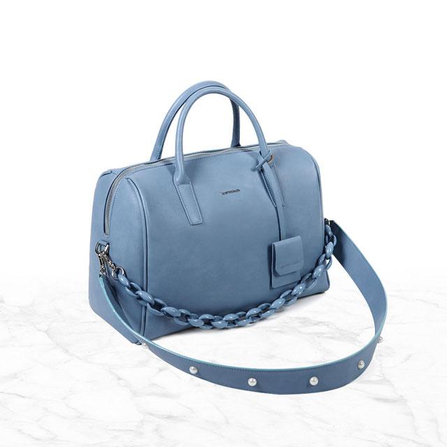 [브라비시모] 헨느(Reine) - Sky Blue 토트백 크로스백 여성가방
