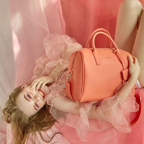 [브라비시모] 헨느(Reine) - Orange 토트백 크로스백 여성가방