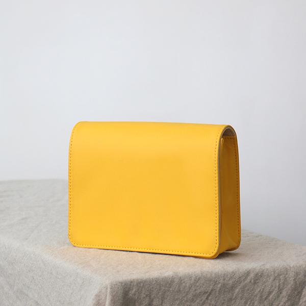 [클래디] 엠마백 오리지널 / 노랑 (핸드+어깨끈 스트랩 포함)