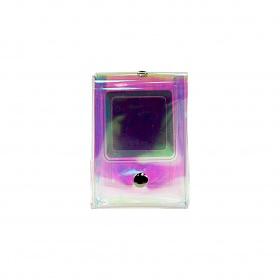 [클래디] 릴리 파우치 - 블루 핑크 (거울 포함)