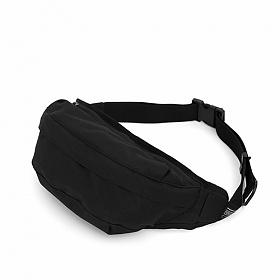 [언더컨트롤]UNDERCONTROL - CROSS BODY BAG / COATED P / BLACK_가방 힙색 웨이스트백