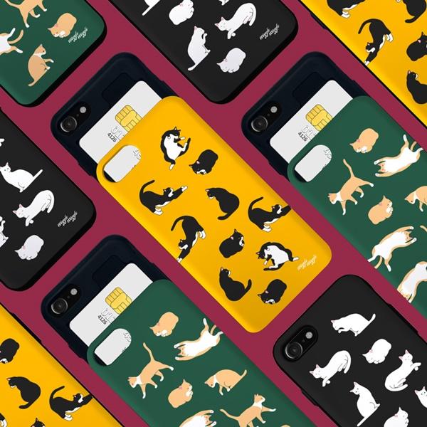 위글위글 - 메이커스 카드슬라이드 범퍼케이스 시즌2 주문제작 케이스 범퍼케이스 아이폰/갤럭시/LG 전기종 가능 케이스