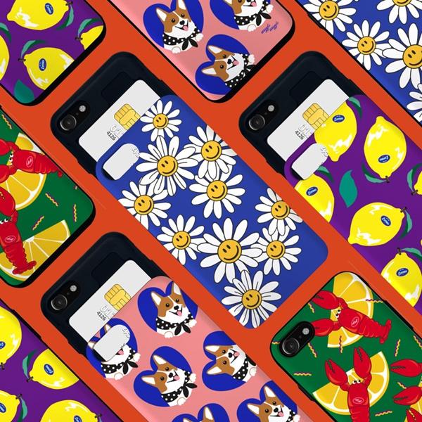 위글위글 - 메이커스 카드슬라이드 범퍼케이스 시즌3 주문제작 케이스 범퍼케이스 아이폰/갤럭시 가능 케이스