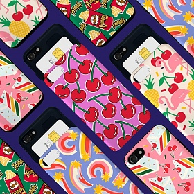 위글위글 - 메이커스 카드포켓 범퍼케이스 2 주문제작 케이스 범퍼케이스 아이폰/갤럭시 가능 케이스