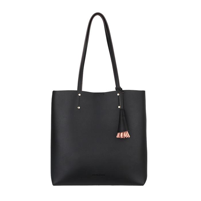 [바나바나] 칼리A 쇼퍼백 HMWCA089CO1 블랙 여성가방