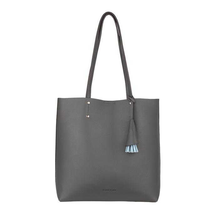 [바나바나] 칼리A 쇼퍼백 HMWCA089CO7 그레이 여성가방