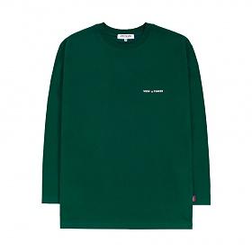 베테제 - [New Color] Time Long Sleeve (green) 타임 롱 슬리브 (그린)