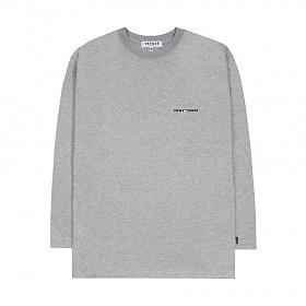 [M사이즈 9/27일 일괄출고] 베테제 - [New Color] Time Long Sleeve (gray) 타임 롱 슬리브 (그레이)