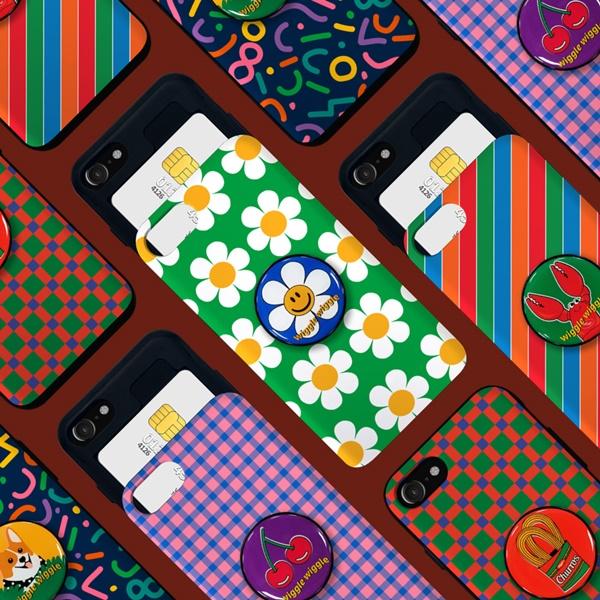 위글위글 - 메이커스 그립톡 범퍼케이스SET 시즌1 주문제작 그립톡 카드케이스 아이폰/갤럭시/LG 전기종 가능 케이스