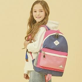 하이시에라 샤크 - 핑크네이비 초등학생가방 체험학습가방 학원가방