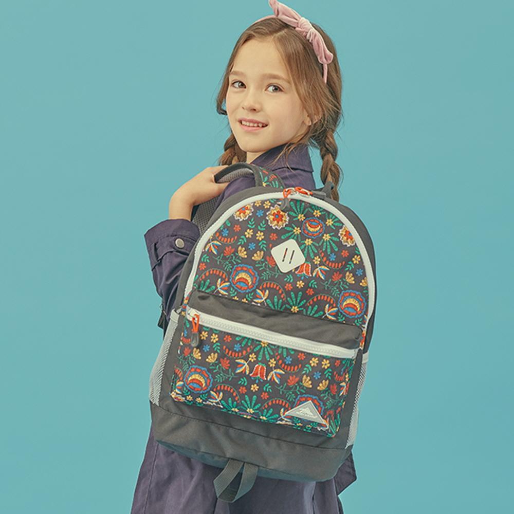 하이시에라 샤크 - 블랙플라워 초등학생가방 체험학습가방 학원가방