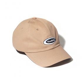 [벗딥]BUTDEEP - OVAL CURVED CAP-BEIGE 볼캡