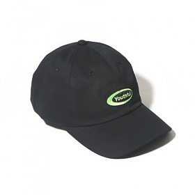 [벗딥]BUTDEEP - OVAL CURVED CAP-BLACK 볼캡