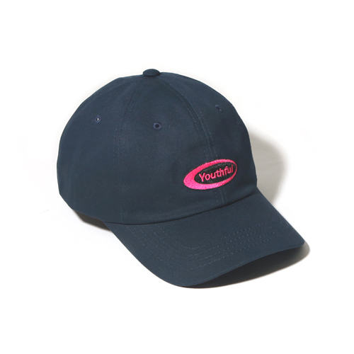 [벗딥]BUTDEEP - OVAL CURVED CAP-NAVY 볼캡