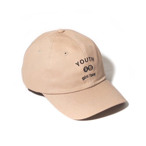 [벗딥]YOUTH CURVED CAP-BEIGE 볼캡