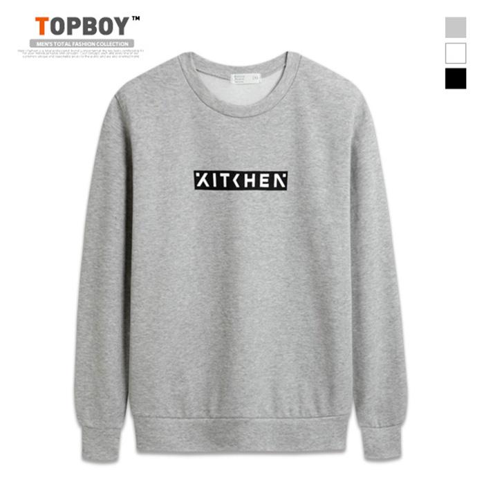 [탑보이] 키친 맨투맨 티셔츠 (NS360)