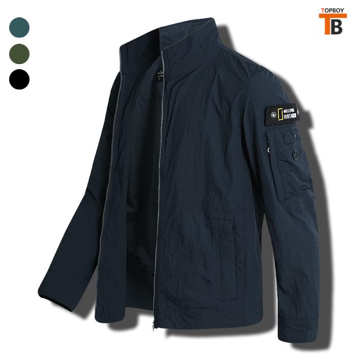 [탑보이] 스텐카라 바람막이 점퍼 (JW502)