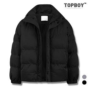 [탑보이] 남녀공용 캐주얼 오버핏 숏패딩 (BT002)