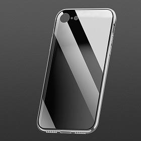 클렙튼 - 아이폰 7 8 투명 강화유리케이스 FP