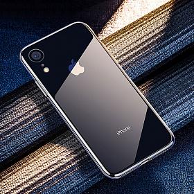 클렙튼 - 아이폰 XR 투명 강화유리케이스 FP