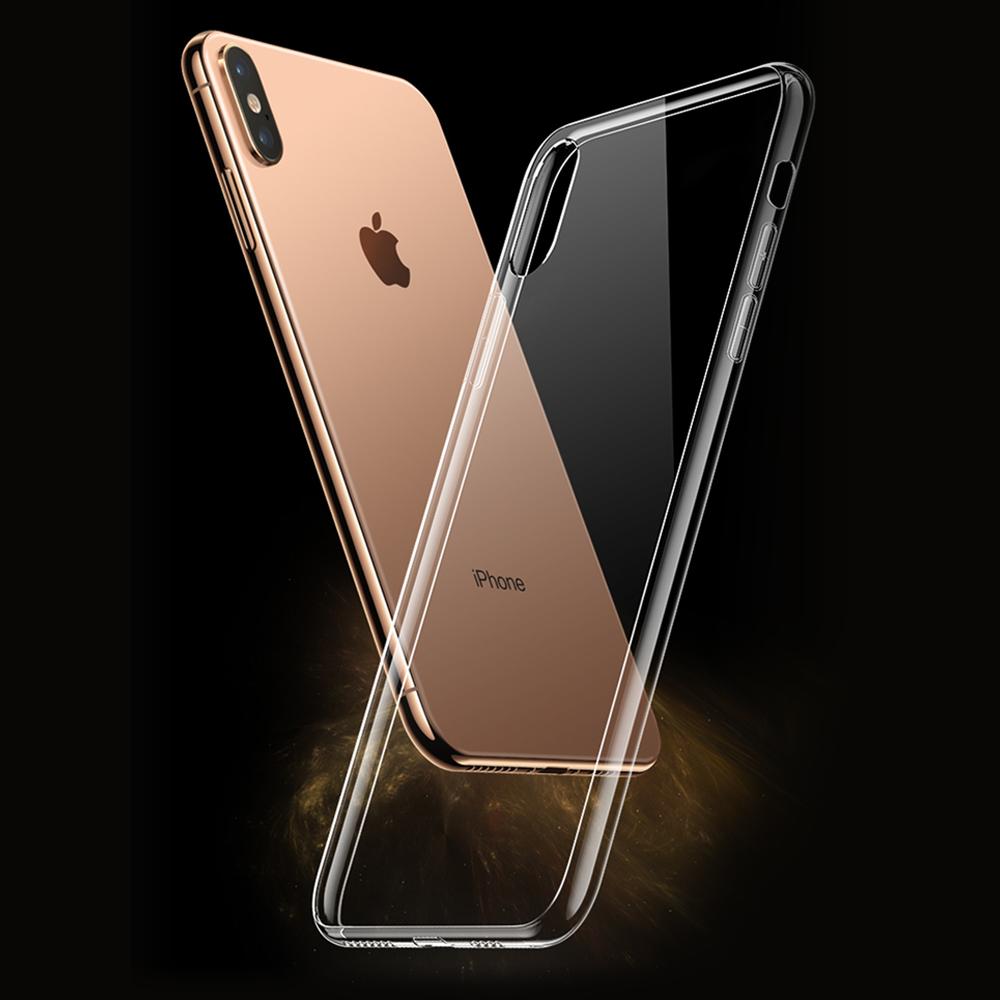 클렙튼 - 아이폰 MAX 투명 강화유리케이스 FP