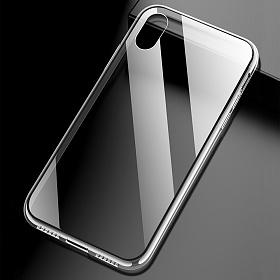 클렙튼 - 아이폰 X XS 투명 강화유리케이스 FP