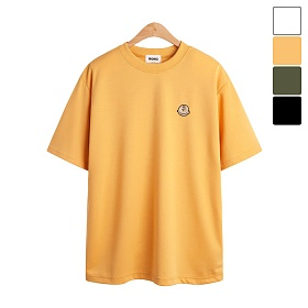 [모니즈] 찰리 자수 반팔 티셔츠 TSB830