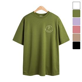 [모니즈] 빅 찰리 얼굴 반팔 티셔츠 TSB831